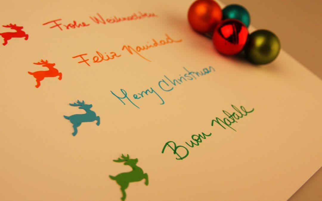 Weihnachten - frohes Fest