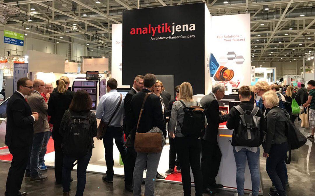 Messe-Event Analytik Jena Labvolution 2019